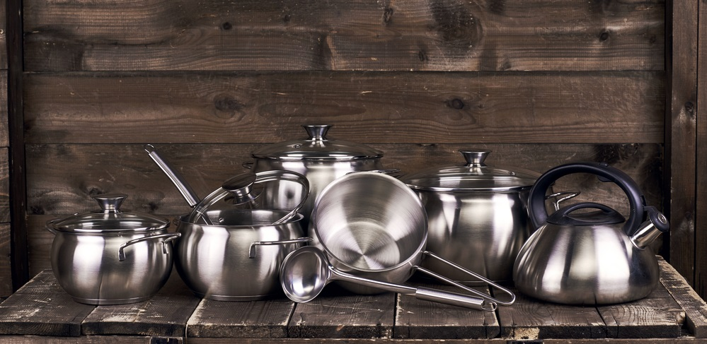 stainless steel aluminium kitchenware